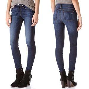 Rag & Bone High Rise Skinny Jeans Cheshire Wash 24